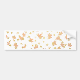 Confetes da folha de ouro no fundo claro adesivo para carro