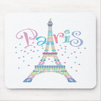 Confetes Mousepad da torre Eiffel