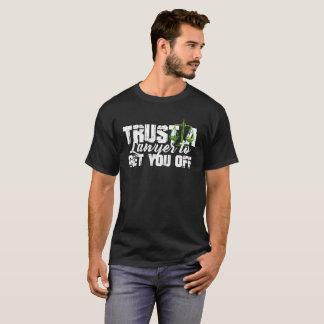 Confie camisas de um advogado