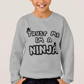 confie-me im uma camisa de suor do ninja