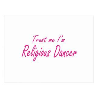 Confie-me, mim são dançarino religioso cartões postais