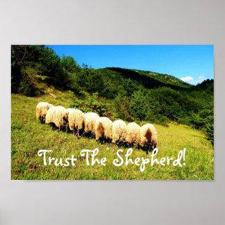Confie o impressão do pastor