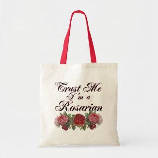 Confie que eu mim é dizer do jardineiro do Rosaria Sacola Tote Budget
