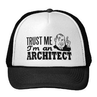 Confie que eu mim é um arquiteto boné