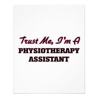 Confie que eu mim é um assistente de Physioarapy Panfletos Coloridos