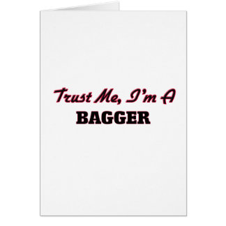 Confie que eu mim é um Bagger Cartão