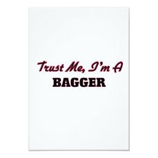 Confie que eu mim é um Bagger Convites Personalizados