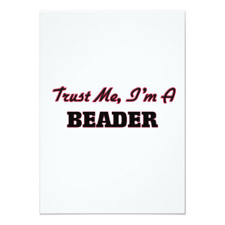 Confie que eu mim é um Beader Convites Personalizado