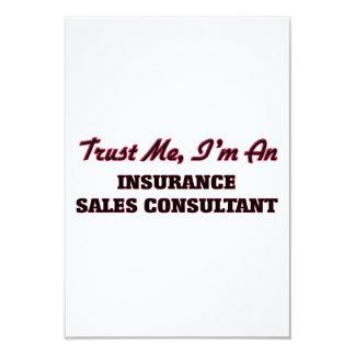 Confie que eu mim é um consultante das vendas do convites personalizado