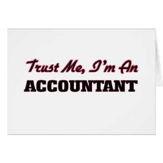 Confie que eu mim é um contador cartao