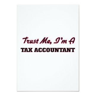 Confie que eu mim é um contador do imposto convites personalizados