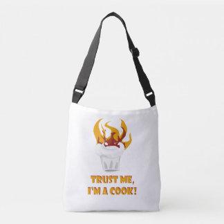 Confie que eu mim é um cozinheiro! bolsa ajustável