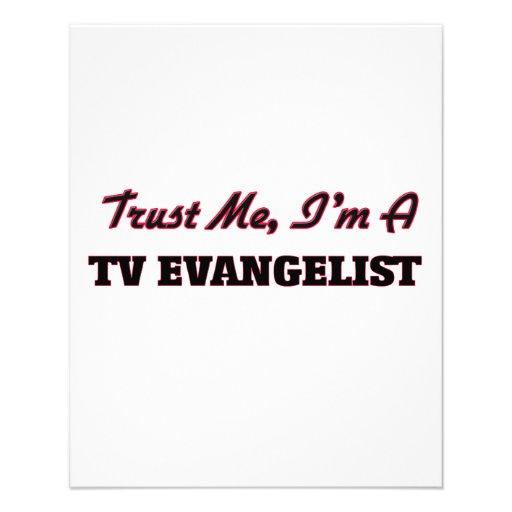Confie que eu mim é um evangelista da tevê