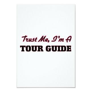 Confie que eu mim é um guia turística convite personalizado