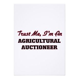 Confie que eu mim é um leiloeiro agrícola convites