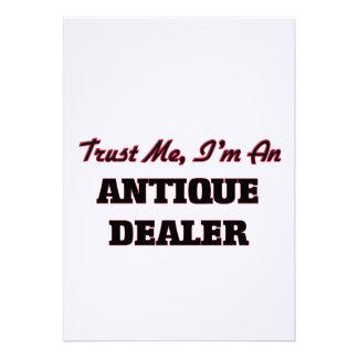 Confie que eu mim é um negociante antigo convites