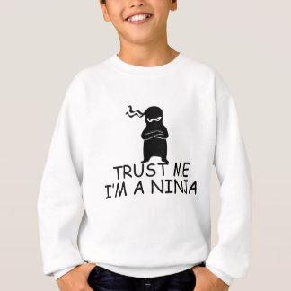 Confie que eu mim é um Ninja Agasalho