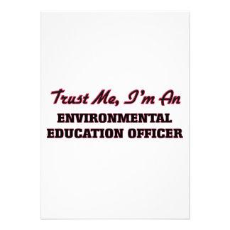 Confie que eu mim é um oficial da educação convites