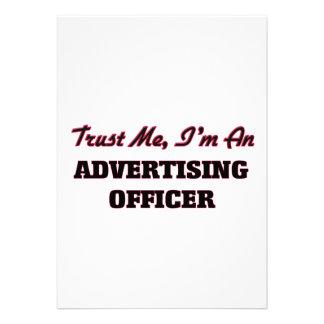 Confie que eu mim é um oficial da propaganda convite personalizados