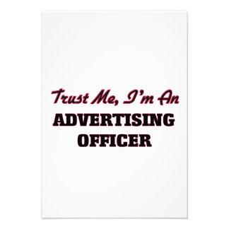 Confie que eu mim é um oficial da propaganda convites personalizados