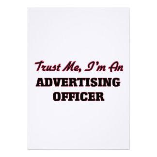 Confie que eu mim é um oficial da propaganda convites