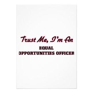 Confie que eu mim é um oficial das oportunidades convites personalizados