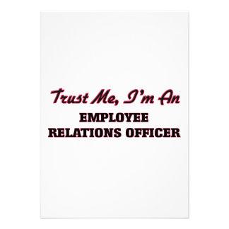 Confie que eu mim é um oficial das relações de convites personalizado