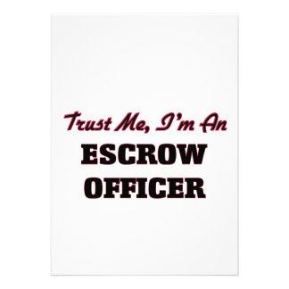 Confie que eu mim é um oficial do compromisso convite personalizado