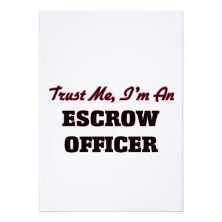 Confie que eu mim é um oficial do compromisso convites