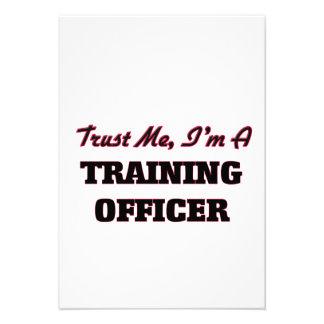 Confie que eu mim é um oficial do treinamento convite personalizados