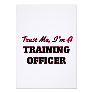 Confie que eu mim é um oficial do treinamento