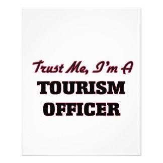 Confie que eu mim é um oficial do turismo panfleto coloridos