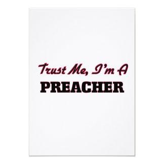 Confie que eu mim é um pregador convite