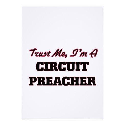 Confie que eu mim é um pregador do circuito convite
