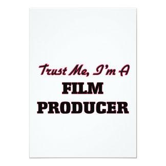 Confie que eu mim é um produtor de cinema convites
