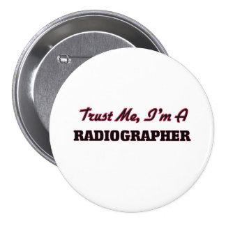 Confie que eu mim é um técnico de radiologia bóton redondo 7.62cm