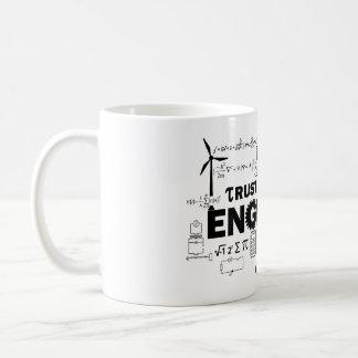 Confie que eu mim é uma caneca do engenheiro