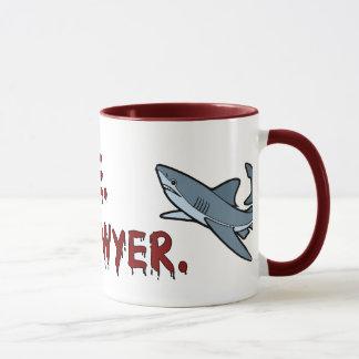 Confie que eu mim é uma caneca do tubarão do
