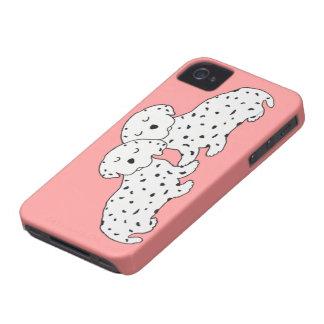 Confortavelmente sonhos de Dalmation Capa Para iPhone 4 Case-Mate