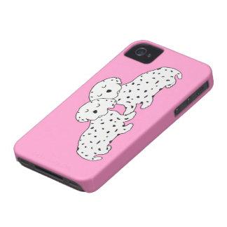 Confortavelmente sonhos de Dalmation Capinhas iPhone 4