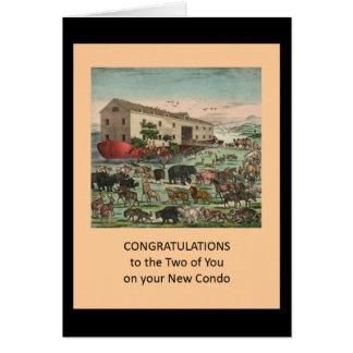 Congrats no condomínio novo - divertimento cartão comemorativo