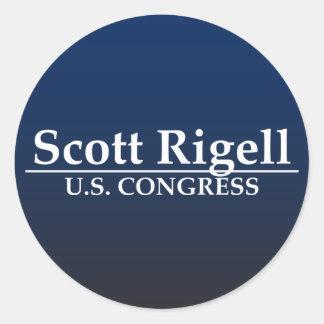 Congresso de Scott Rigell E.U. Adesivo Em Formato Redondo