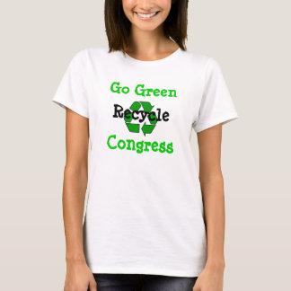 Congresso do reciclar camiseta