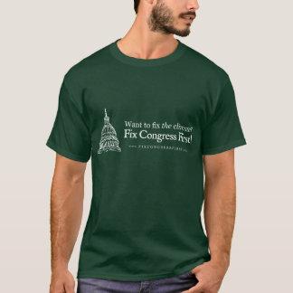 Congresso do reparo do clima primeiramente camiseta
