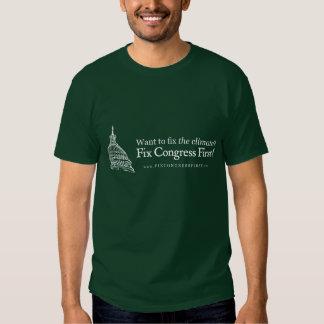 Congresso do reparo do clima primeiramente tshirts