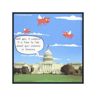 Congresso, violência armada, & impressão das
