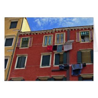 Conhecer o encanto cénico de Italia Cartão Comemorativo