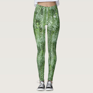 Coníferas verdes Legging