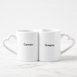 CONJUNTO DE CANECA DE CAFÉ