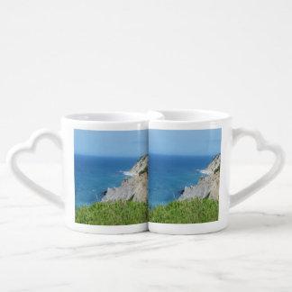 Conjunto De Caneca De Café A ilha de bloco blefa - ilha de bloco, Rhode - a